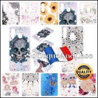 Etui Coque Housse transparente Paillettes Glitter Case Samsung Galaxy A10e A20e