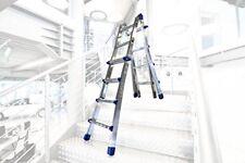 Scala telescopica in alluminio Marchetti Equipe 10 10 pioli