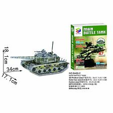 3D Cardboard Puzzle - Model - Tank - Cool Hobbies Toys, Jigsaw Puzzle B468-2