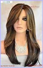 Angelica PM by Noriko Wigs (partial mono) Kahlua Blast Brown  New Cute AUTHENTIC