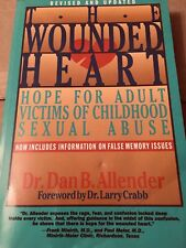 """SEXUAL ABUSE BOOK """"THE WOUNDED HEART"""" NEW"""