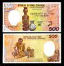 EQUATORIAL GUINEA 500 FRANCS 1985 P 20 UNC