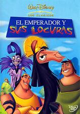 PELICULA DVD EL EMPERADOR Y SUS LOCURAS WALT DISNEY CLASICO Nº40