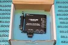 Black Box LBH100A-PD-SC-24 Extreme 10/100 Mbps Media Converter Switch New