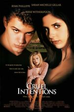 CRUEL INTENTIONS MOVIE POSTER 2 Sided ORIGINAL FINAL ROLLED 27x40