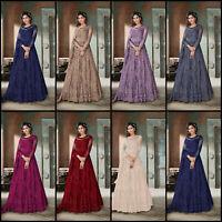 Salwar Kameez Indian Pakistani Suit ethnic Anarkali Dress Designer Party Wear BQ