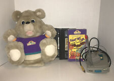 Vintage TV Teddy Lot Complete With 3 Tapes