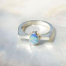 Ringe mit Opal Edelsteinen echten von (17,5 mm Ø) natürliche