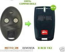 BFT TELECOMANDO RADIOCOMANDO MITTO ROLLING CODE 2 TASTI ORIGINALE
