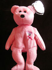 "Ty Beanie Baby Rare Mum ""That is Why I Love My Mum"" Mum With Flowers On Front"