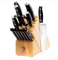 J.A. Henckels International Forged Premio 14-pc. Knife Block Set NEW IN BOX