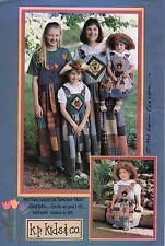 Mother Daughter Garden Patch Jumpers Pattern - Girls sz 1-14, Women sz 6-24 New