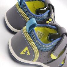 Plae Sam 2.0  Steel Gray Toddler Boy Sandals Size 8.5 Machine Washable