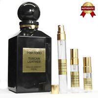 TOM FORD TUSCAN LEATHER EDP  unisex perfume sample size 2~2.5~3~5~10ml