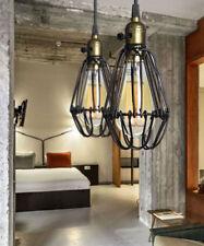 Pathson Black Industria Retro Vintage Kitchen Ceiling Pendant Light Hanging Lamp