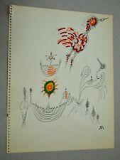 ROBERT BENAYOUN surréalisme cinéma dessin original 108