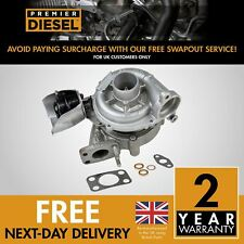 Peugeot 206 207 3008 80 Kw 109 HP 1.6 HDI 753420 Turbocharger Turbo + Gaskets