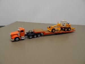 Herpa Promotex Truck trailer & Kibri Grader  HO Scale  1/87 Scale