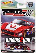 78 PORSCHE 935 - 2016 Hot Wheels Car Culture TRACK DAY - D Case -