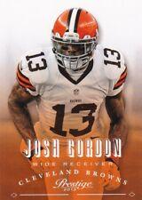 Josh Gordon 2013 PANINI PRESTIGE FOOTBALL cartes à collectionner, #47