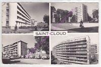 CPSM 92110 CLICHY LA GARENNE Allée Gambetta l/'église 2 vues blason Edt RAYMON