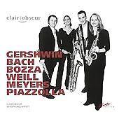Gershwin/Bach/Bozza/Weill [clair-obscur] [SOLO MUSICA: SM218], clair-obscur CD |