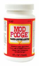 Plaid  Mod Podge  Gloss  White  Decoupage  8 oz.