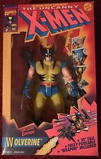 Toy Biz 10 Inch X-MEN: 4 Figure Lot WOLVERINE MYSTIQUE ROGUE SABRETOOTH metallic