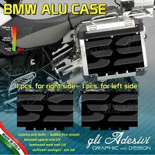 2 Adhesivos Stickers Maletas Lateral BMW Alforjas R 1200GS Big BK