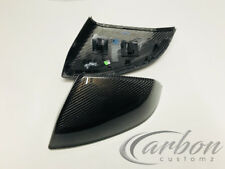 NEW Audi Q5/SQ7/Q7/SQ7 (4M) RARE Genuine Real OE Carbon Fibre Mirror Covers 16+