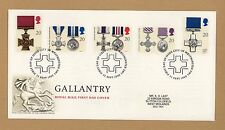 1990 Gallantry Medals First Day Cover City of Westminster SHS cancellation