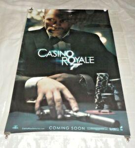 Casino Royale Original US One Sheet Movie Cinema Poster 2006 Daniel Craig