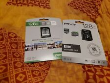 Lot Of 2 128 GB Flash Cards New In Box  micro SDXC high performance Elite