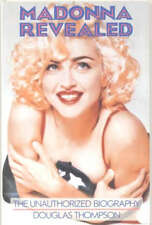 MADONNA REVEALED 1991 Unauthorized Bio Biography 1st Print Softcover Nice Copy!