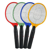 Electric Bug Pest Insect Fly Handheld Racket Zapper Killer Mosquito Swatter RJ