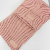 NWT Victoria's Secret PINK Knit Hat & Scarf Combo Set One Size Gift Set