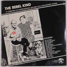 THE REBEL KIND: Contemporary Garage Psych Comp VINYL LP '83 Sounds Int. SEALED