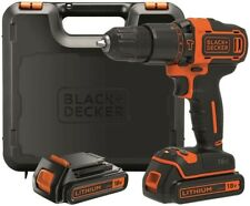 BLACK+DECKER BDCHD18KB-QW Perceuse à percussion sans fil 2 vitesses 18v