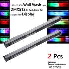 2X Stage Wall Wash Bar Light RGB 252LED DMX Club Disco Wedding Decor Party New