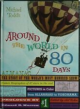 AROUND THE WORLD IN 80 DAYS MOVIE BOOK, 1956 (CAST, BEHIND-THE-SCENES, PHOTOS +