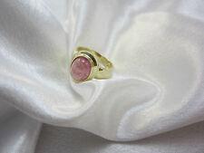 Klassischer Ring aus Gold 585 mit rosa Turmalin