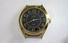 Russian Belorus LUCH men's mechanical watch 1801.1 15 jewels, new+ leather strap