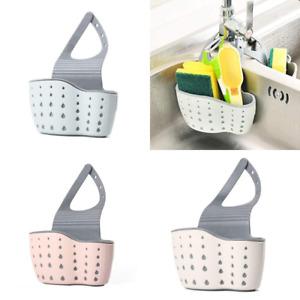 Kitchen Accessories Utensils Organizer Adjustable Snap Sink Soap Sponge Holder