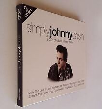 Simply Johnny Cash ~ by Johnny Cash (2-Disc, CD) Gift NEW