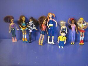 Barbie McDonalds Happy Meal Toys Lot Barbie & Friends lot of 9