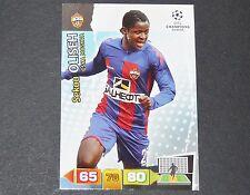 SEKOU OLISEH CSKA MOSCOU UEFA PANINI CARD FOOTBALL CHAMPIONS LEAGUE 2011 2012