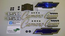 Emblem Kit 33pc w/ fasteners 69 Camaro Standard 350 *In Stock* bowtie grill+rear