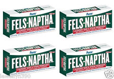 (4) Fels-Naptha 5.5oz Bars for Making Homemade Laundry Soap