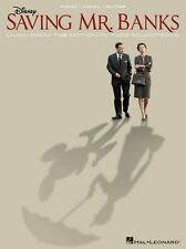 Saving Mr Banks DISNEY Motion Picture Soundtrack Play Piano Guitar Music Book