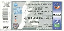 Billet  / Place  OM Olympique de Marseille - OM vs le Mans  ( 048  )